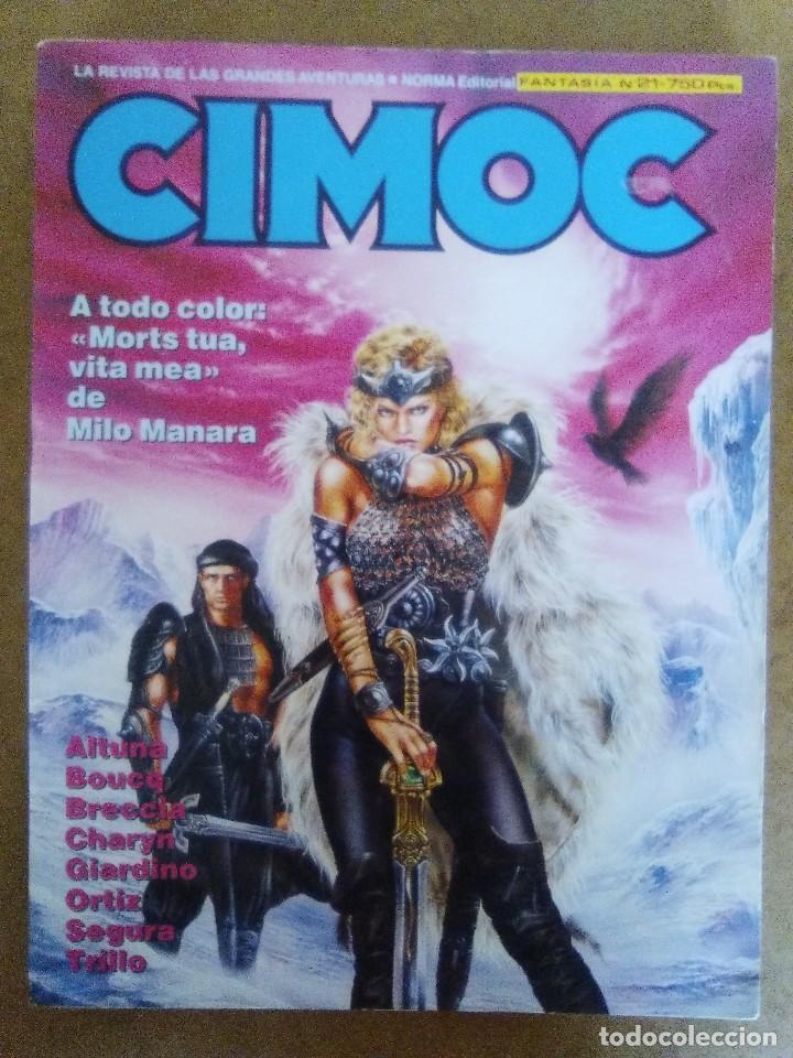 CIMOC RETAPADO Nº 21 (CONTIENE LOS NUMEROS 71 A 73) NORMA - BUEN ESTADO - OFM15 (Tebeos y Comics - Norma - Cimoc)