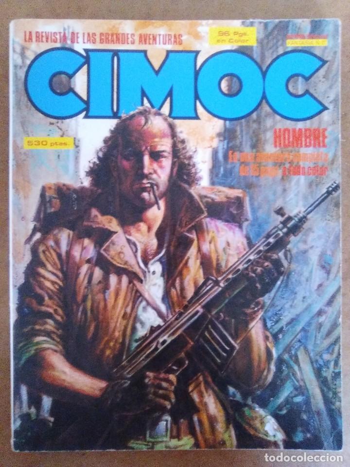 CIMOC RETAPADO Nº 17 (CONTIENE LOS NUMEROS 59 A 61) NORMA - BUEN ESTADO - OFM15 (Tebeos y Comics - Norma - Cimoc)
