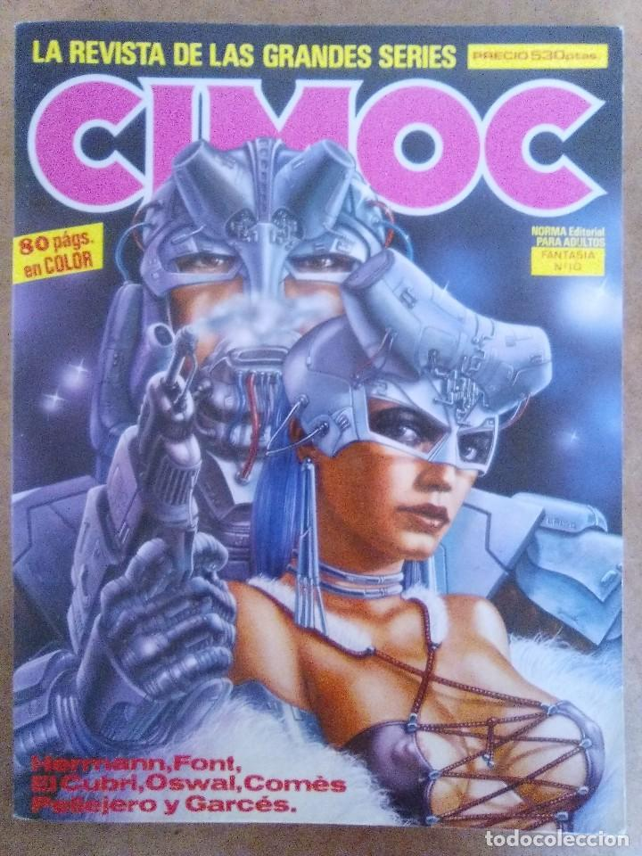 CIMOC RETAPADO Nº 10 (CONTIENE LOS NUMEROS 38 A 40) NORMA - BUEN ESTADO - OFM15 (Tebeos y Comics - Norma - Cimoc)