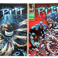 Cómics: PITT Nº 7 - 8 ( NORMA ). Lote 126619703