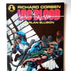 Cómics: VIC & BLOOD Nº 1 ( NORMA ) RICHARD CORBEN. Lote 126626079