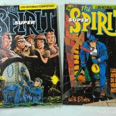 Cómics: SUPER THE SPIRIT POR WILL EISNER, Nº 6 Y 7 - CONTIENE LOS NÚMEROS 28 AL 32 Y 33 AL 37, NUEVOS, ED. N. Lote 237169675