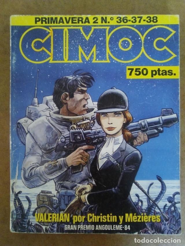 CIMOC PRIMAVERA Nº 2 (RETAPADO CON LOS NUMEROS 36 A 38) NORMA - OFM15 (Tebeos y Comics - Norma - Cimoc)