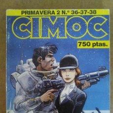 Cómics: CIMOC PRIMAVERA Nº 2 (RETAPADO CON LOS NUMEROS 36 A 38) NORMA - OFM15. Lote 126707303