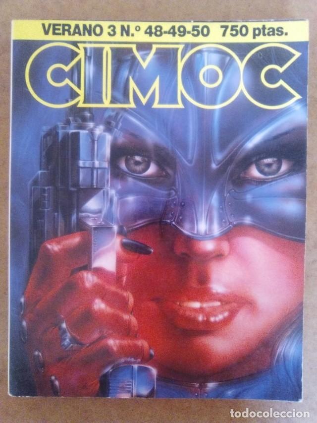 CIMOC VERANO Nº 3 (RETAPADO CON LOS NUMEROS 48 A 50) NORMA - BUEN ESTADO - OFM15 (Tebeos y Comics - Norma - Cimoc)