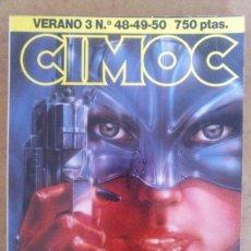 Cómics: CIMOC VERANO Nº 3 (RETAPADO CON LOS NUMEROS 48 A 50) NORMA - BUEN ESTADO - OFM15. Lote 126707567