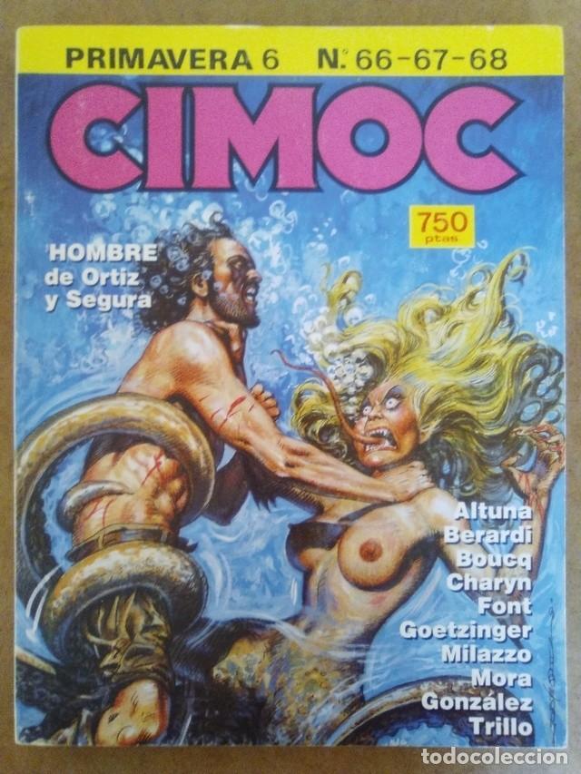 CIMOC PRIMAVERA Nº 6 (RETAPADO CON LOS NUMEROS 66 A 68) NORMA - BUEN ESTADO - OFM15 (Tebeos y Comics - Norma - Cimoc)