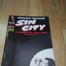 Cómics: COMIC NORMA SIN CITY FRANK MILLER A DAME TO KILL FOR Nº 4 DE 6. Lote 126750987