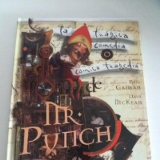 Cómics: MISTER PUNCH / MR. PUNCH / NEIL GAIMAN - DAVE MCKEAN. Lote 143744792