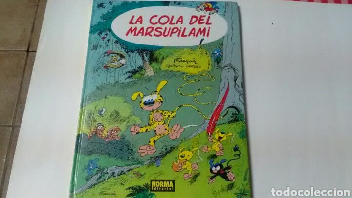 LA COLA DEL MARSUPILAMI . ED.NORMA.LOS ÁLBMES DE CAIRO . (Tebeos y Comics - Norma - Cairo)