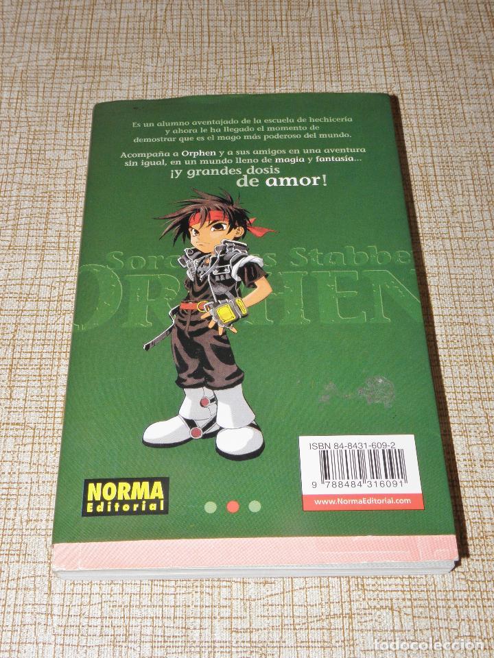 Cómics: SORCEROUS STABBER ORPHEN Nº 1 Guión: Yoshinobu Akita Dibujo: Hajime Sawada 2002 Norma - Foto 2 - 127453459