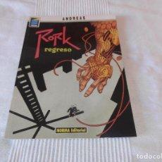 Cómics: RORK TOMO 5 EL REGRESO - ANDREAS - COLECCION PANDORA Nº 47 - NORMA EDITORIAL. Lote 127528183