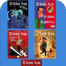 Cómics: EL SEÑOR JEAN (DE DUPUIS & BERBERIAN) CIMOC EXTRA COLOR NºS.174,201,205,213,226 Y 239.( 20% DESC.). Lote 127674115