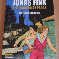 Cómics: JONAS FINK 4 EL LIBRERO DE PRAGA – GIARDINO – NORMA ED. 2018 CIMOC EXTRA COLOR 277. Lote 131417950