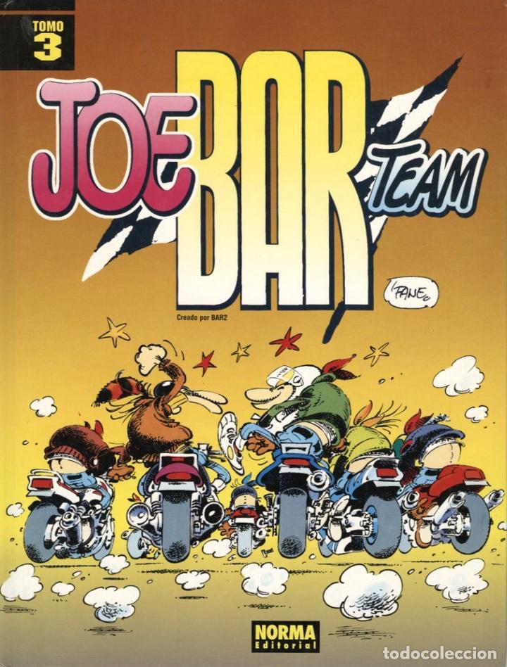 JOE BAR TEAM-3 (NORMA, 1995) DE FANE. TAPA DURA (Tebeos y Comics - Norma - Comic Europeo)