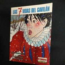 Cómics: CIMOC EXTRA COLOR - Nº 54 - LAS 7 VIDAS DEL GAVILAN - LA MUERTE BLANCA - NORMA - . Lote 128070815