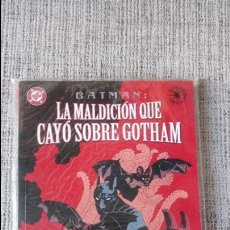 Cómics: BATMAN LA MALDICION QUE CAYÓ SOBRE GOTHAM NORMA EDITORIAL. Lote 128176371
