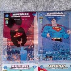 Cómics: SUPERMAN LAS CUATRO ESTACIONES SERIE COMPLETA 4 TOMOS NORMA EDITORIAL. Lote 128176491