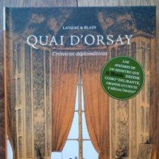Comics: QUAI D'ORSAY, CRONICAS DIPLOMATICAS, LANZAC BLAIM, NORMA ED. Nº 1. Lote 128277223
