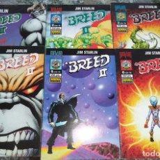 Cómics: BREED II JIM STARLIN ED. NORMA SERIE BRAVURA 1996 COMPLETA 6 COMICS. Lote 128293063