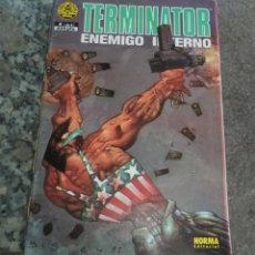 Cómics: TERMINATOR ENEMIGO INTERNO ED. NORMA 1993 N.º 4 DE 4. Lote 128371619