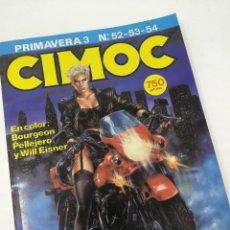 Cómics: CIMOC ESPECIAL PRIMAVERA N° 3 RETAPADO 52 53 54 NORMA EDITORIAL . Lote 128395351