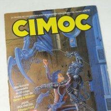 Cómics: CIMOC NUMERO 61 NORMA EDITORIAL . Lote 128395907