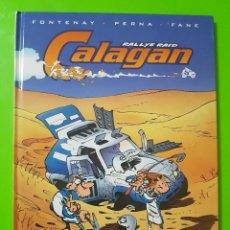 Cómics: CALAGAN RALLYE RAID EN TAPAS DURAS NUEVO. Lote 128398203