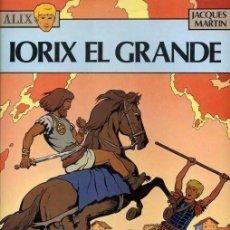 Cómics: ÁLBUM DE ALIX (IORIX EL GRANDE) EN TAPAS DURAS POR JACQUES MARTIN UNA JOYA ORIGINAL Y DIFÍCIL. Lote 128398395