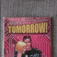 Comics - CITY OF TOMORROW HOWARD CHAYKIN NORMA EDITORIAL - 128487075