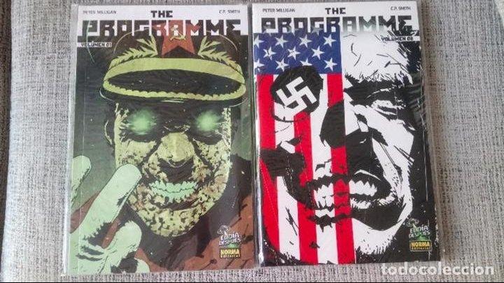THE PROGRAMME SERIE COMPLETA 2 TOMOS NORMA EDITORIAL (Tebeos y Comics - Norma - Comic USA)