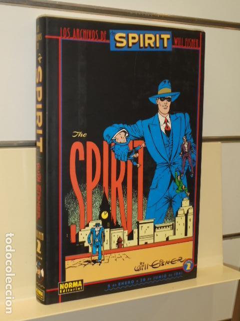 LOS ARCHIVOS DE THE SPIRIT TOMO Nº 2 - WILL EISNER - NORMA OFERTA (ANTES 35,00 EU.) (Tebeos y Comics - Norma - Otros)