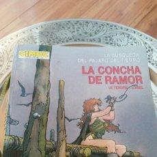 Cómics: CIMOC EXTRA COLOR. LA BÚSQUEDA DEL PÁJARO DÉL TIEMPO LA CONCHA DE RAMOR DE LE TENDRE.LOISEL. Lote 129137375