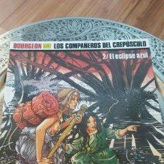 Cómics: LOS COMPAÑEROS DEL CREPÚSCULO. EL ECLIPSE AZUL.BOURGEON. NORMA EDITORIAL PRIMERA EDICCION. Lote 136480074
