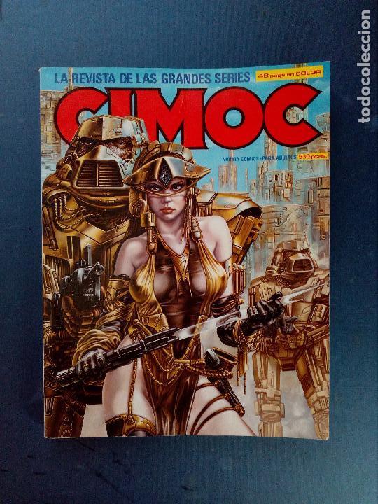 CIMOC RETAPADO Nº 9 ( NÚMEROS 35 -36 - 37 ). 1983 (Tebeos y Comics - Norma - Cimoc)