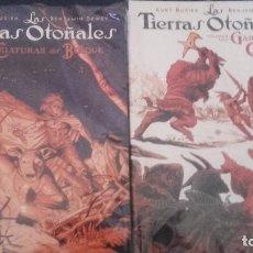 Cómics: LAS TIERRAS OTOÑALES TOMOS 1 Y 2 - BUSIEK & DEWEY - IMAGE NORMA ED. Lote 129357679