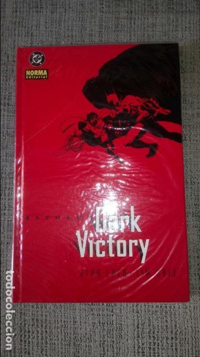 BATMAN DARK VICTORY JEPH LOEB TIM SALE NORMA EDITORIAL (Tebeos y Comics - Norma - Comic USA)