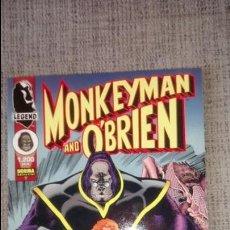 Cómics: MONKEYMAN&O´BRIEN ARTHUR ADAMS NORMA EDITORIAL. Lote 129477071