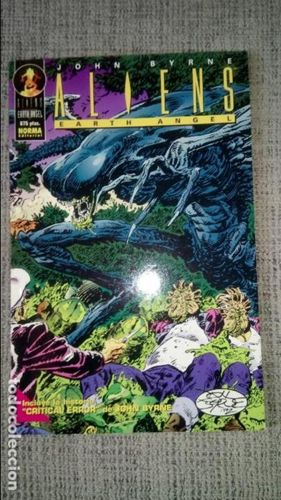 ALIENS EARTH ANGEL JOHN BYRNE NORMA EDITORIAL (Tebeos y Comics - Norma - Comic USA)