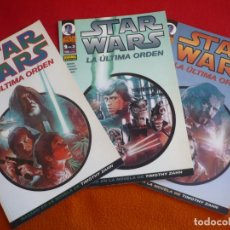 Cómics: STAR WARS LA ULTIMA ORDEN 1, 2 Y 3 ( MIKE BARON BIUKOVIC ) ¡COMPLETA! ¡BUEN ESTADO! NORMA. Lote 129574751