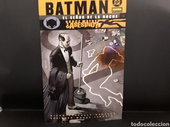 COMIC BATMAN EL SEÑOR DE LA NOCHE. EDITORIAL NORMA. N 14 (Tebeos y Comics - Norma - Comic Europeo)