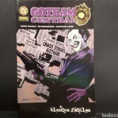 Cómics: GOTHAM CENTRAL - BLANCOS FÁCILES (RUCKA, BRUBAKER & LARK) -.SUPEROFERTA. Lote 129742680