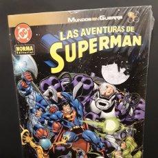 Cómics: LAS AVENTURAS DE SUPERMAN. MUNDOS EN GUERRA COLECCIÓN COMPLETA DE 4 NUMEROS. Lote 129743987