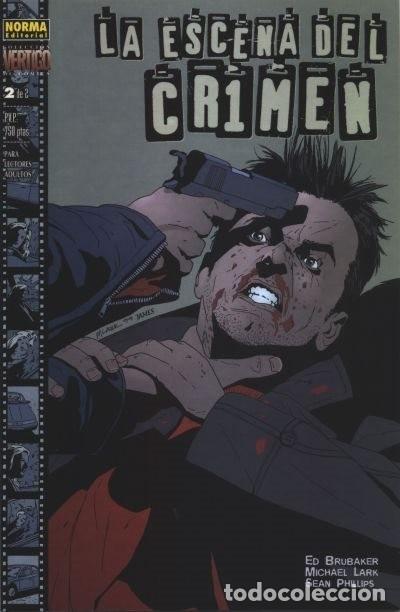 LA ESCENA DEL CRIMEN - BRUBAKER LARK SEAN PHILLIPS - NORMA VERTIGO (Tebeos y Comics - Norma - Comic USA)