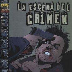 Cómics: LA ESCENA DEL CRIMEN - BRUBAKER LARK SEAN PHILLIPS - NORMA VERTIGO. Lote 130013767