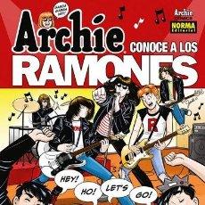 Cómics: ARCHIE CONOCE A LOS RAMONES - NORMA EDITORIAL - GRAPA. Lote 130013879