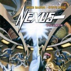 Cómics: NEXUS VOL. 1 (MIKE BARON / STEVE RUDE) NORMA - CARTONE - COMO NUEVO - OFI15T. Lote 130056603