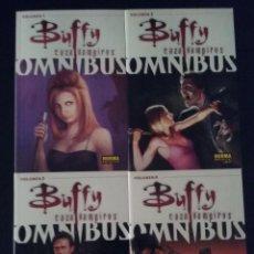 Cómics: OMNIBUS: BUFFY CAZAVAMPIROS (1 AL 4). Lote 130244474