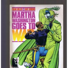 Cómics: MARTHA WASHINGTON GOES TO WAR Nº 2 NORMA EDITORIAL FRANK MILLER GIBBONS. Lote 130352938