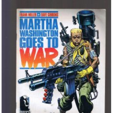 Cómics: MARTHA WASHINGTON GOES TO WAR Nº 1 NORMA EDITORIAL FRANK MILLER GIBBONS. Lote 130353130